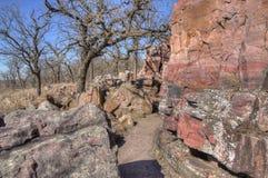 Monument national de Pipestone au Minnesota du sud-ouest photographie stock libre de droits