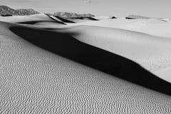 Monument national de sables blancs, noir et blanc photographie stock libre de droits