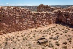 Monument national de Tuzigoot Images libres de droits