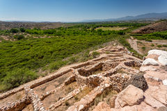 Monument national de Tuzigoot Photos stock