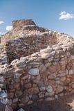 Monument national de Tuzigoot Photographie stock libre de droits