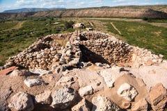 Monument national de Tuzigoot Photo stock