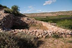 Monument national de Tuzigoot, Arizona Photo stock
