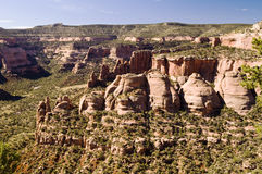 Monument national du Colorado Photo libre de droits