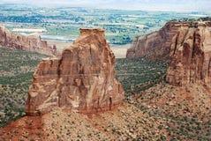 Monument national du Colorado photographie stock libre de droits