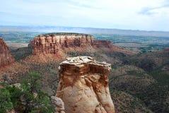Monument national du Colorado images libres de droits