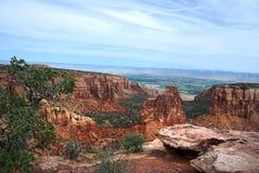 Monument national du Colorado photo libre de droits
