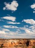 Monument national du Colorado Photos libres de droits