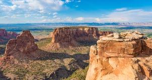 Monument national du Colorado Images stock