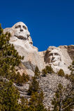 Monument national du mont Rushmore dans le Dakota du Sud Esprit de jour d'été Image stock