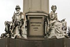 Monument national Gettysburg de soldats Image libre de droits