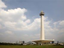 Monument national Indonésie Photo libre de droits