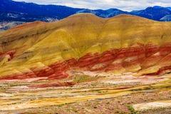 Monument national peint de collines Photographie stock
