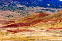 Monument national peint de collines Photo stock