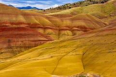 Monument national peint de collines Images stock