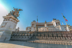 Monument Nazional a Vittorio Emanuele II, Rome, Italy Royalty Free Stock Photography