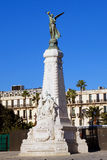 Monument Nice on the Promenade des Anglais in Nice, Cote d'Azur Stock Image