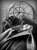 A Monument Nicolas Copernicus in Torun, Poland Stock Image