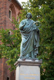 Monument of Nicolaus Copernicus in Torun Stock Photography