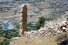 Monument in Northern Kurdistan Stock Photos