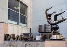 Monument nota bene i Odessa Royaltyfri Foto