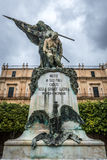 Monument in Noto Stock Photography