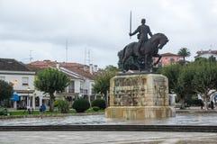 Monument of Nuno Alvares Pereira. BATALHA, PORTUGAL - OCTOBER 17, 2015: Monument of Nuno Alvares Pereira, one of Portugal most important national heroes, Batalha Stock Image