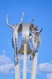 Monument O Passageiro in Londrina-Stadt stockbilder