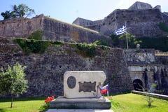 Monument och fästning royaltyfria foton