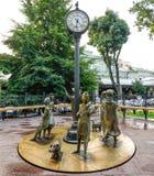 Monument ` Odessa Time-` Ukraine Lizenzfreie Stockbilder