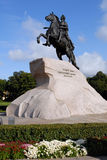 Monument Of Peter The Great, Russia. Royalty Free Stock Photos
