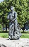 Monument Ohtinke Heilige Petersburg royalty-vrije stock foto