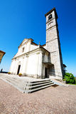 Monument old architecture in italy europe milan Royalty Free Stock Photography