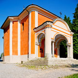 Monument old architecture in italy europe milan religion       a Royalty Free Stock Photo