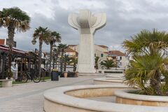Free Monument On Vodice Square Stock Images - 171816804