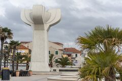 Free Monument On Vodice Square Stock Photography - 171816912