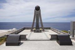 Monument på Banzai Cliff, Saipan royaltyfria foton