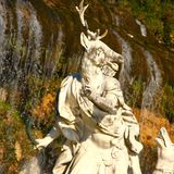 Monument på Caserta, Italien Arkivbild