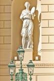 Monument på den stora teatern Arkivfoton