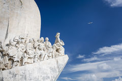 Monument Padrao dos Descobrimentos in Lissabon Royalty Free Stock Photo