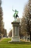 monument Paris de général Lafayette de la France à Photos libres de droits