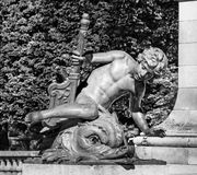 Monument in Paris. PARIS, FRANCE – 21 SEPTEMBER 2012: Monument in Paris Stock Photography