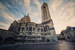 Monument in Paris royalty free stock images