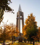 The monument in the park Royalty Free Stock Photography