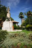 Monument in park, Priego de Cordoba. Stock Images