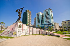 Monument of Partisan in Durres, Albania Stock Photography