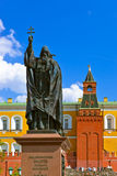 Monument of Patriarch in Kremlin Moscow - Russia Stock Photos
