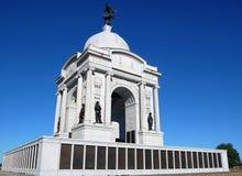 monument pennsylvania Arkivbild