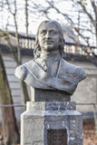 The monument of Peter the Great in Brussels Stock Image