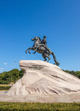 Monument of Peter the Great 1 Royalty Free Stock Photos